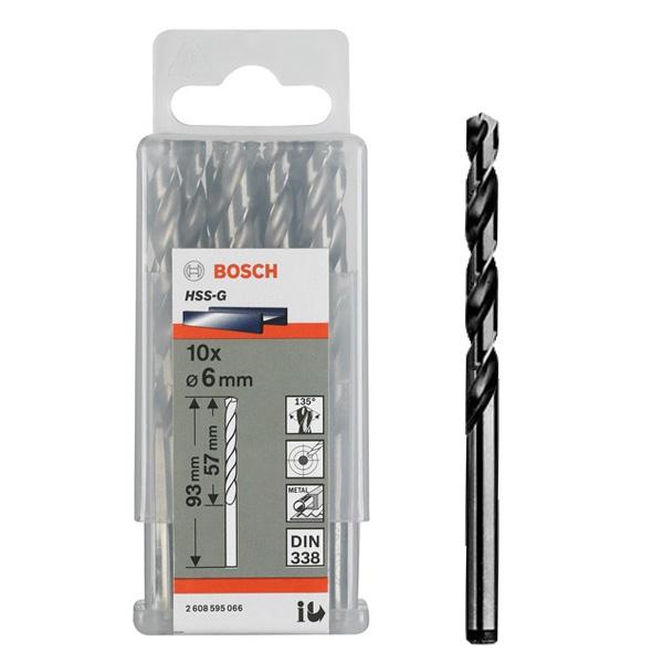 Bosch HSS-G Metal Drill Bits