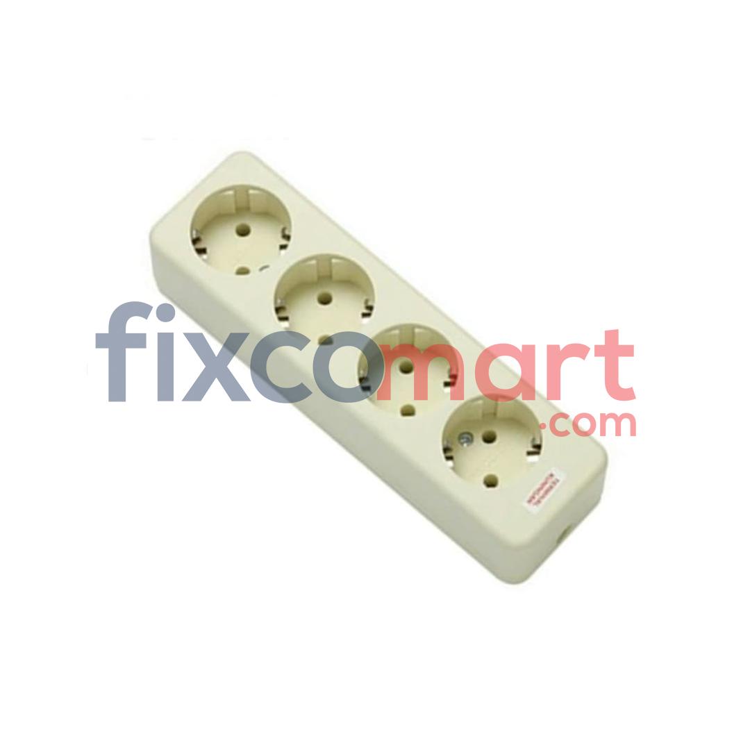 Colokan 4 lubang merk UTICON / stop kontak