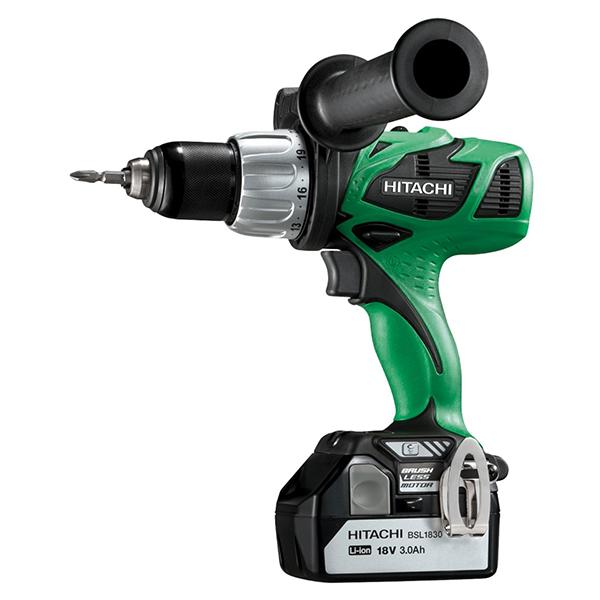 Hitachi Cordless Driver Drill 13 mm DS 18DBL
