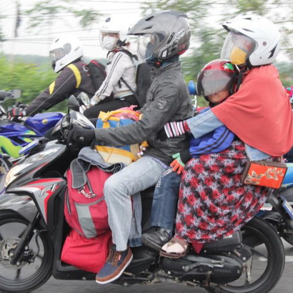 5 Tips Mudik Pakai Motor Agar Tidak Cepat Lelah