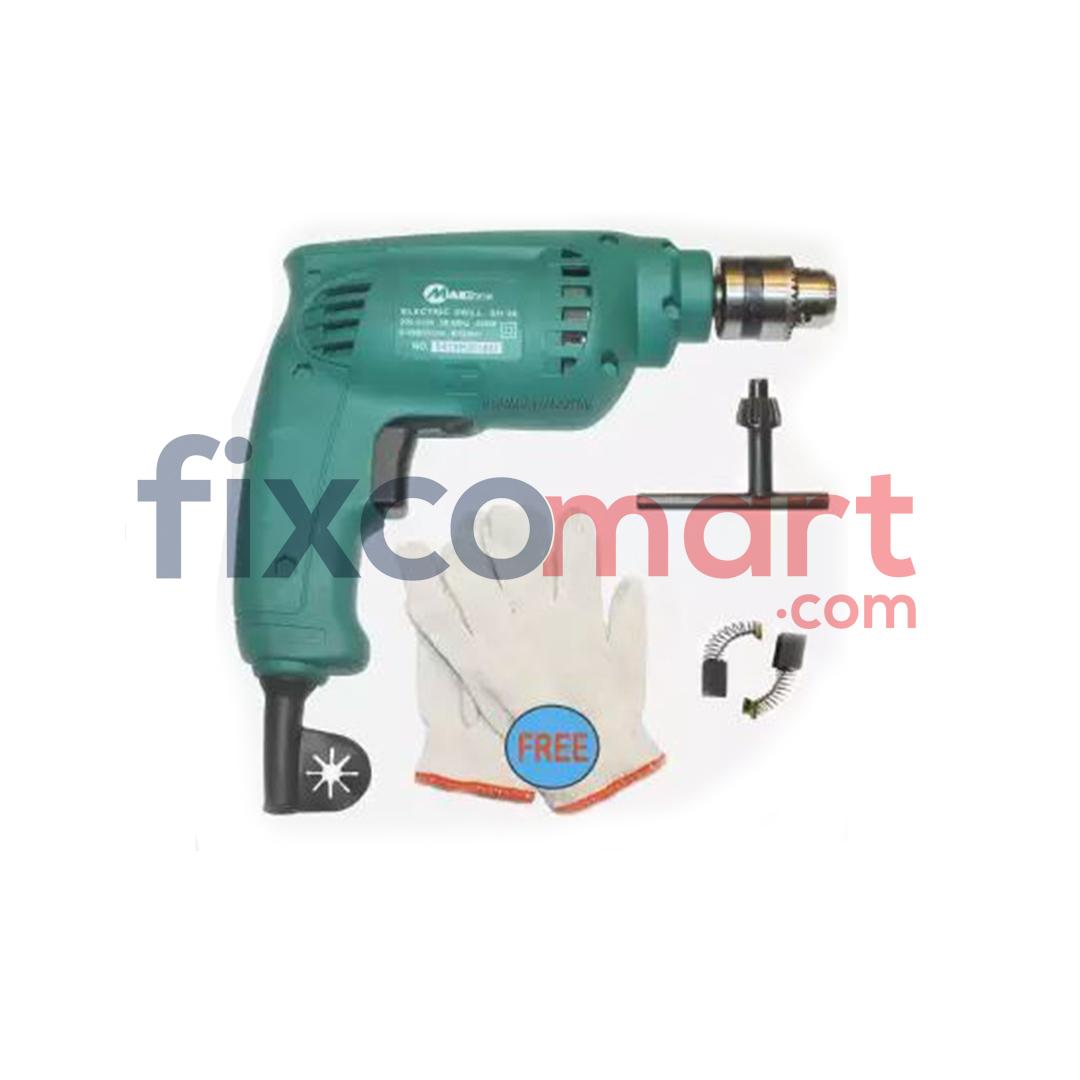 MAILTANK Mesin Bor Tangan 10 mm SH30 GRATIS Sarung Tangan