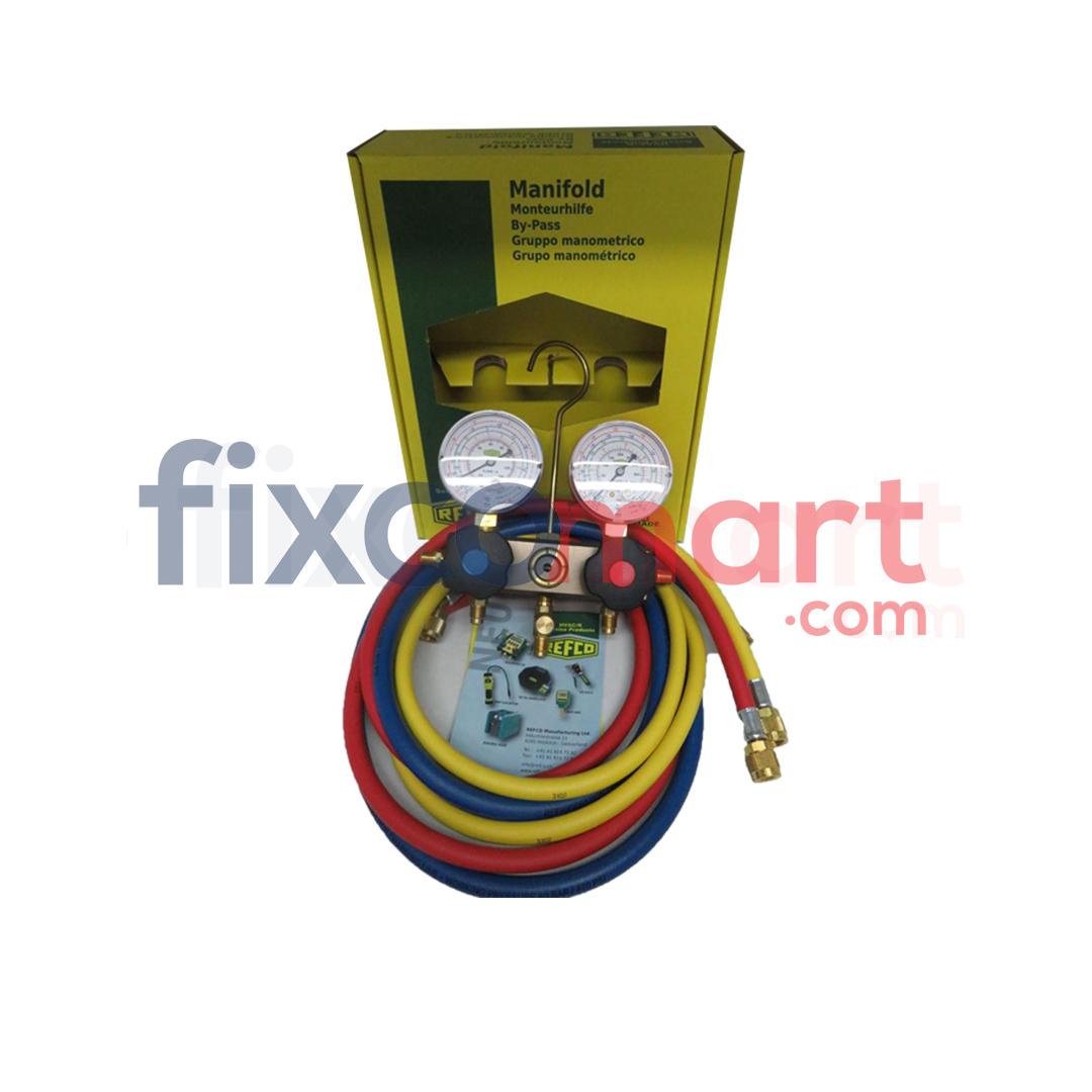 Manifold Analyzer AC R410 REFCO BM2-6-DS-R32