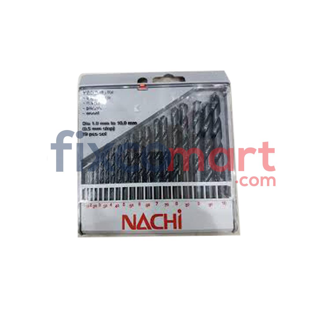Nachi Mata Bor Besi Set 1 -10 mm 19pcs