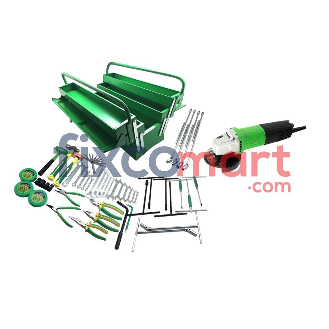 Paket Bengkel Motor Mobil Gurinda Gerinda Grinder Tool Set Murah