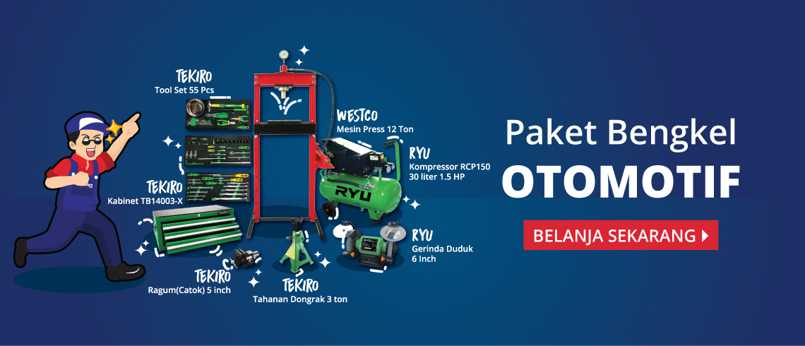 Paket Bengkel Otomotif