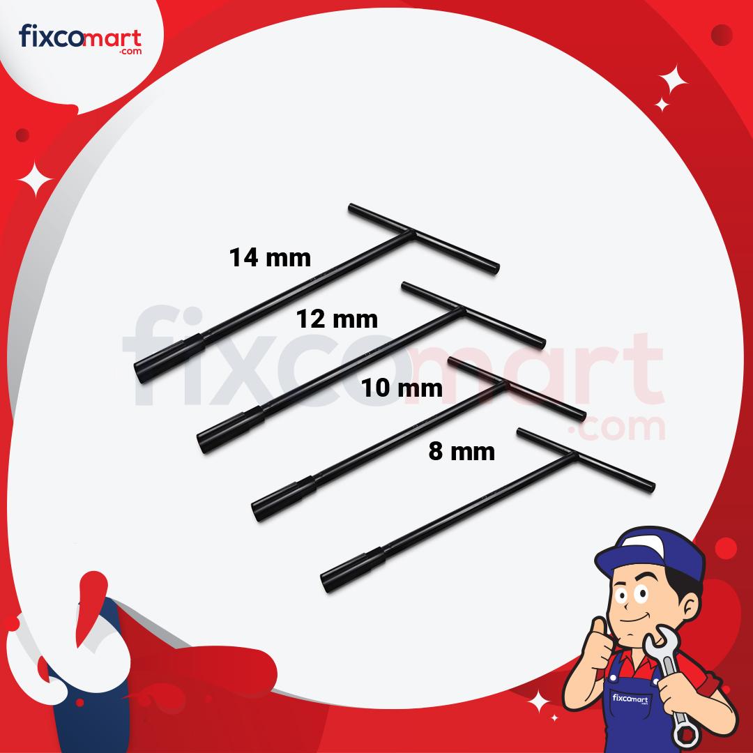 Paket Tekiro Kunci Sock T (8,10,12,14)