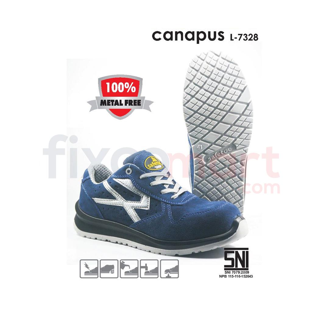 Safetoe Sepatu Safety Canapus L-7328