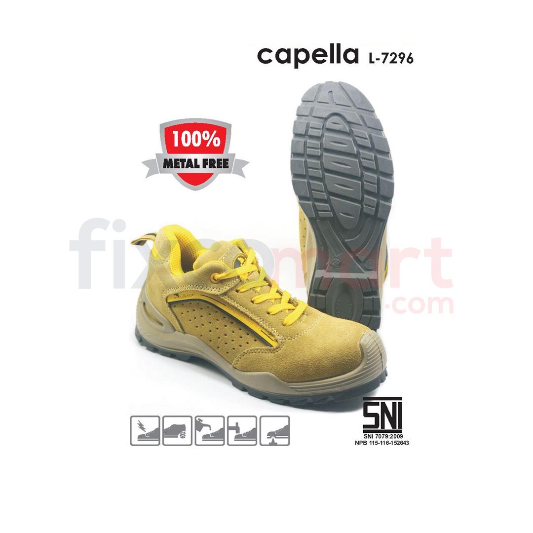 Safetoe Sepatu Safety Capella L-7296