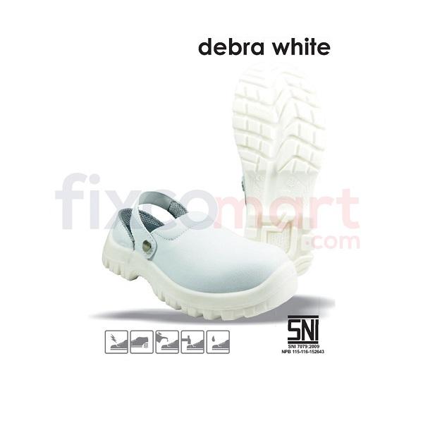 Safetoe Sepatu Safety Debra White L-7096