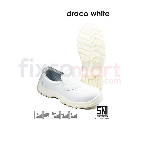 Safetoe Sepatu Safety Draco White L-7097