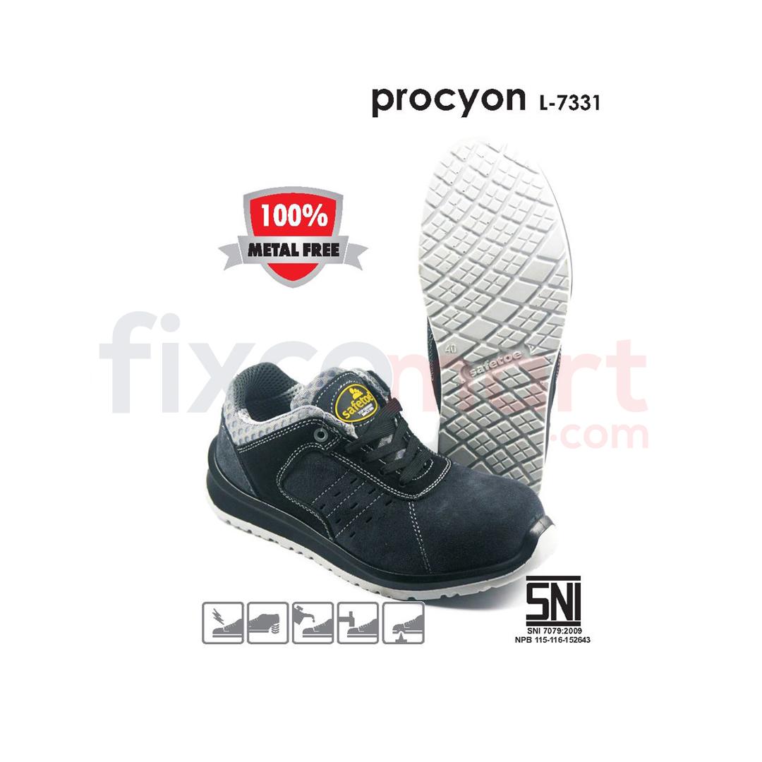 Safetoe Sepatu Safety Procyon L-7331