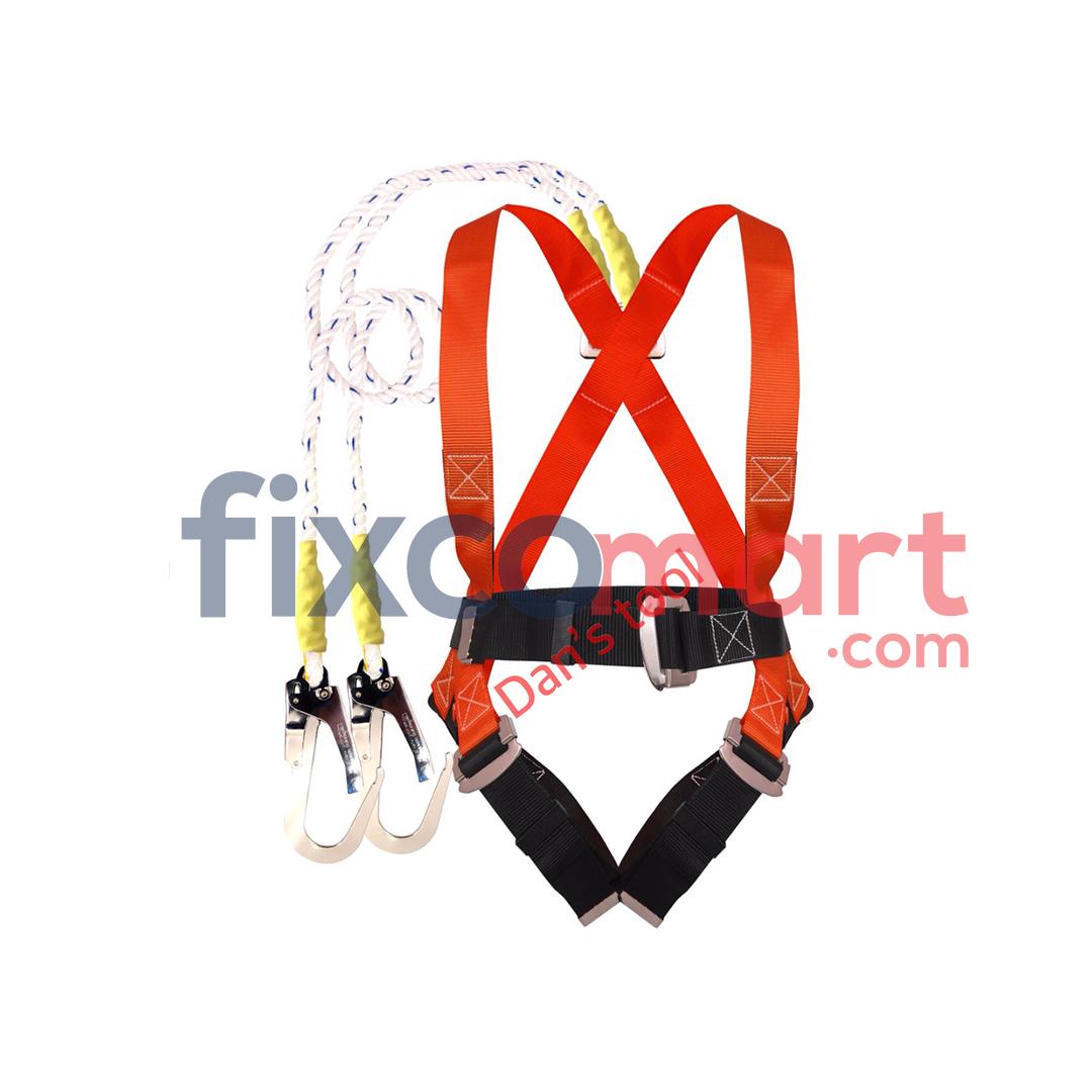Safety Belt Body Hardness Double Hook