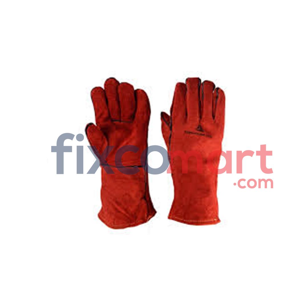 Sarung Tangan Las kulit 16 Inch / Sarung Las