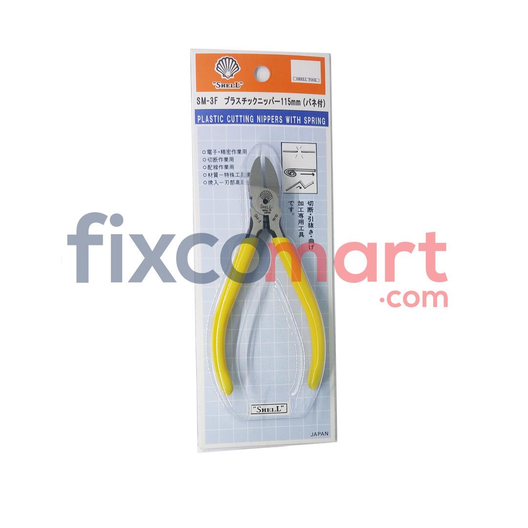 SHELL SM-3F Tang Potong Plastik 115mm / 4.6 inch