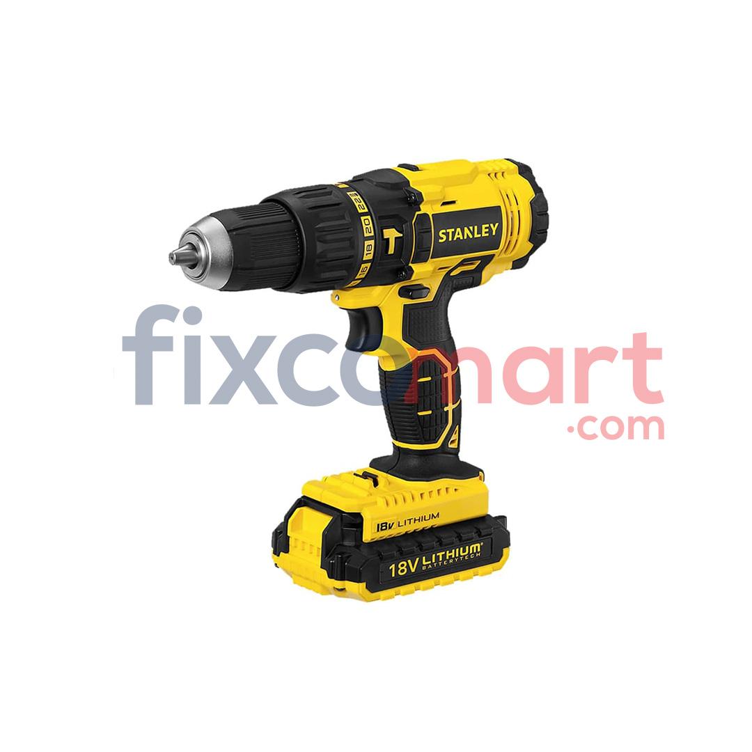 STANLEY SCH20C2 18V Hammer Drill Cordless Bor Bobok Baterai