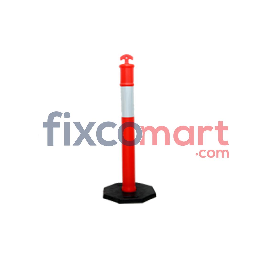 Stick Cone Plastik / Pembatas Jalan Traffic 75 Cm