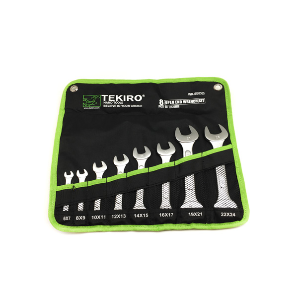 Tekiro Kunci Pas Set 8 pcs (6 - 24 mm)