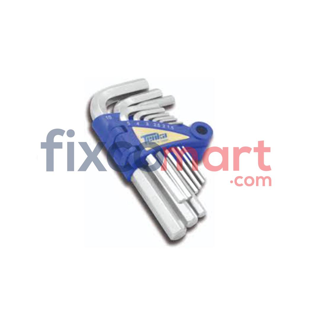 Tenka Kunci L pendek mm 9 pcs
