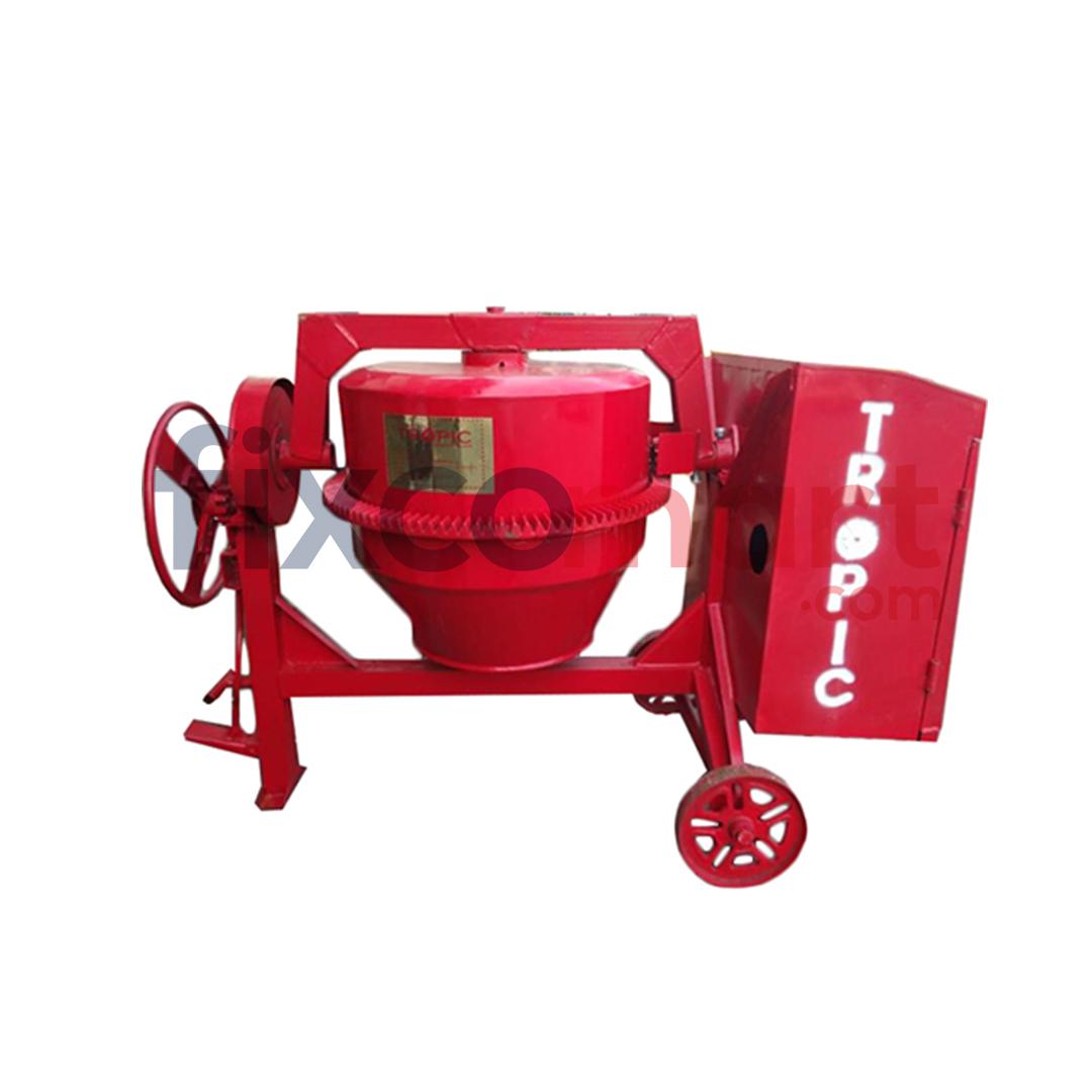 Tropic molen 400 liter + tropic diesel R175 + Vanbelt